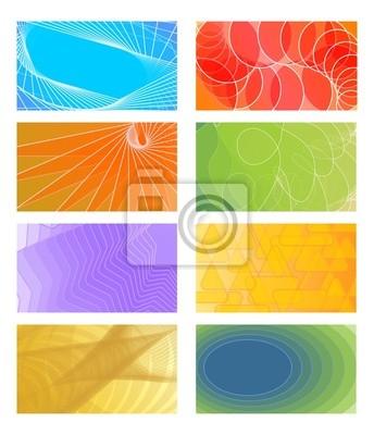Vektor Hintergründe Für Visitenkarten Flyer Broschüre