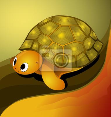Vektor-Illustration der Schildkröte