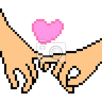 Pixel Art Amour