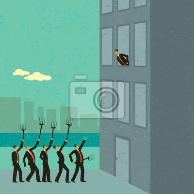 Verärgerte Aktionäre