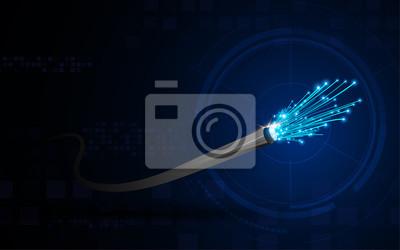 Verbindungslinie Auf Vernetzung Telekommunikation Konzept
