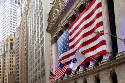 Fototapete Vereinigte Staaten von Amerika-Flagge