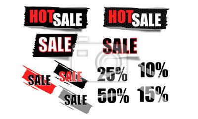 Verkaufsmarken - Discount-Preis-Tags sparen Preis