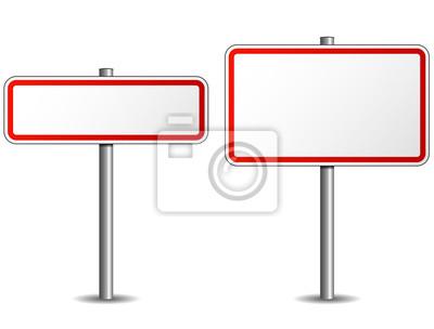 Fototapete Verkehrszeichen