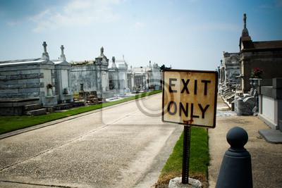 Verlassen Nur Friedhof