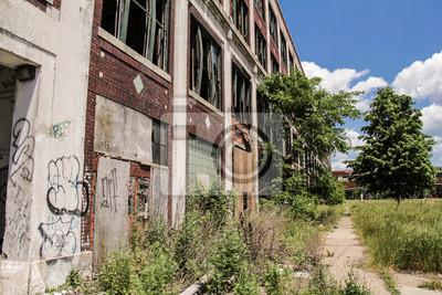 Verlassene Fabrik Packard 11