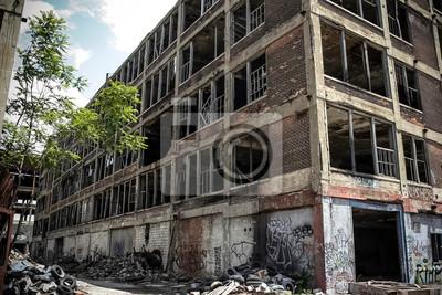 Verlassene Fabrik Packard 18