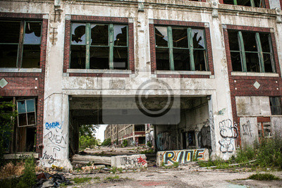 Verlassene Fabrik Packard 19