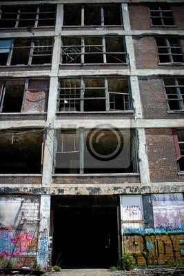 Verlassene Fabrik Packard 6