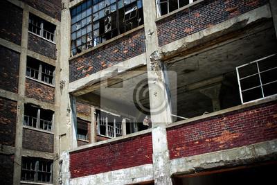 Verlassene Fabrik Packard 7