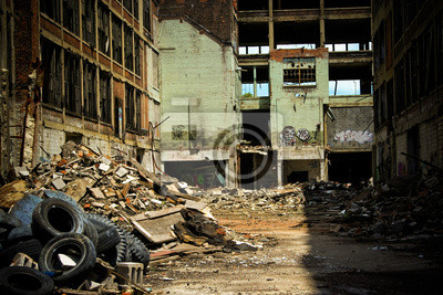 Verlassene Fabrik Packard 8