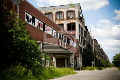 Verlassene Packard Factory 5
