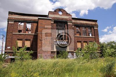 Verlassenes Detroit Building 1