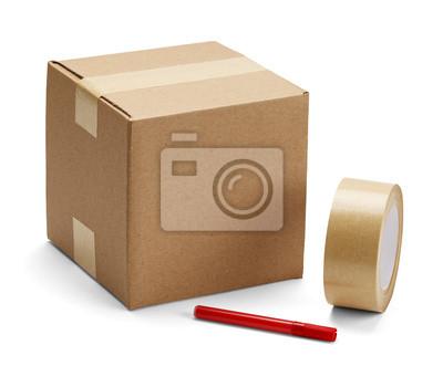 Verpackung und Karton