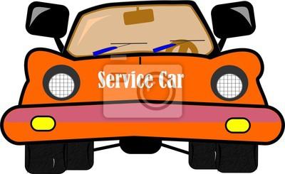 verrückte Auto-Service