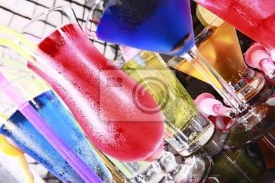 Verschiedene Cocktails fiesta Stil