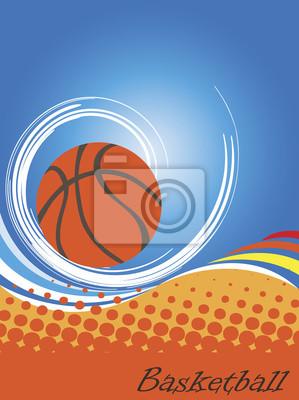 Vertikal basketball poster