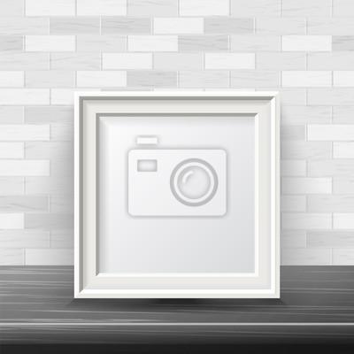 ausgezeichnet quadratischer wei er rahmen fotos wandrahmen die ideen verzieren. Black Bedroom Furniture Sets. Home Design Ideas