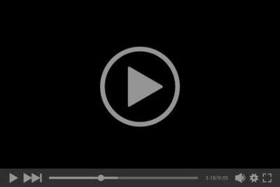 Fototapete Video player for web, vector illustration