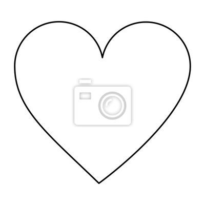Videospiel Herz Leben Symbol Vektor Illustration Umriss Bild