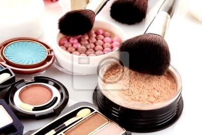 Viele professionelle Kosmetik für Make-up