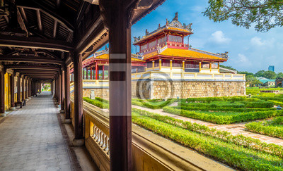 Fototapete Views on Imperial Royal Palace Hue, Vietnam