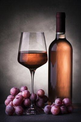 Fototapete Vino rosato