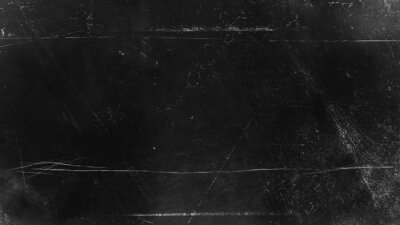 Fototapete Vintage grunge scratched background, distressed old abstract texture overlays. Stock illustration background.