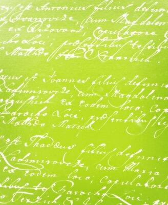 Fototapete vintage handgeschriebenen Brief