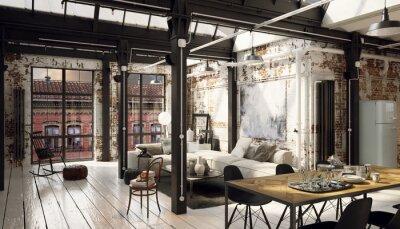 Industrie Wohnung Home Ideen