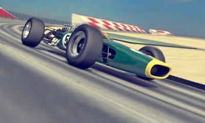 Fototapete Vintage Racer