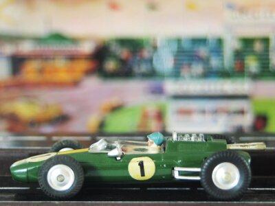 Vintage Rennwagen Spielzeug