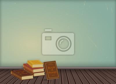 Fototapete Vintage Tapeten Hintergrund Mit Holz Textur Boden, Anpassung  Oder Anwendung Idee Dekoration Für Vintage