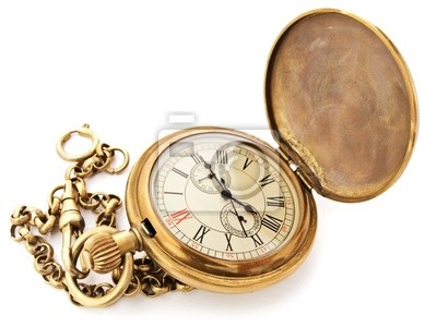 vintage Tasche Uhr