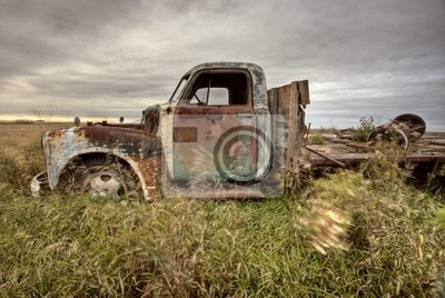 Fototapete Vintage Truck