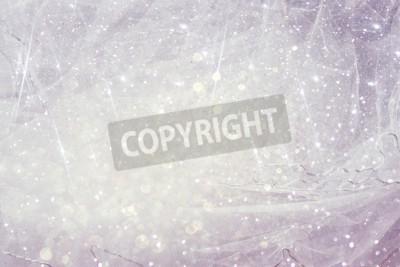 Fototapete Vintage Tulle Chiffon Textur Hintergrund mit Glitter Overlay. Hochzeitskonzept