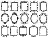 Keltische knoten vektor mittelalterliche nahtlose grenzen muster fototapete fototapeten - Rahmen fur spiegel ...