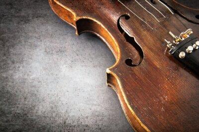 Fototapete Violine Musikinstrument Orchester Großansicht
