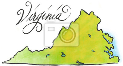 Virginia Karte