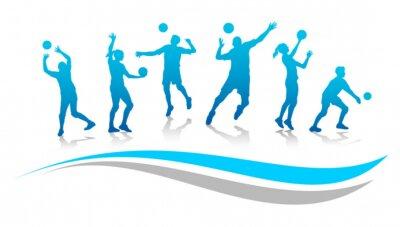 Fototapete Volleyball - 67