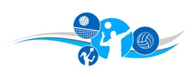 Fototapete Volleyball - 94