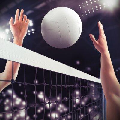 Fototapete Volleyball-Match