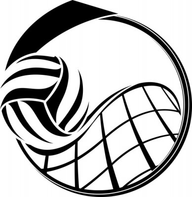 Volleyball Medal Design-
