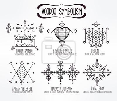 Bedeutung ihre zeichen voodoo und Voodoo Schutzritual
