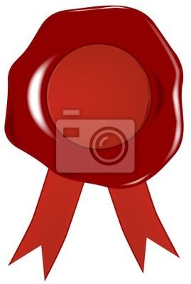 Wachs-Siegel und Auszeichnungen