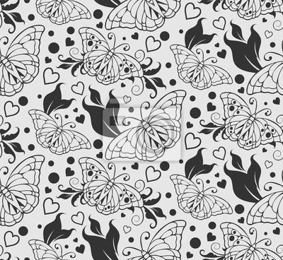 Wallpaper Für Zu Hause Nahtlose Muster Zusammenfassung Hintergrund