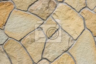 Fototapete Wand Aus Naturstein Als Textur