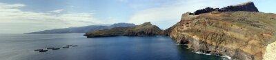 Fototapete Wanderung auf der Halbinsel Ponta de Lourenco
