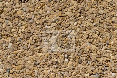 Steinmauer Wandverkleidung wandverkleidung mit kleinen stücken von verschiedenen steinen