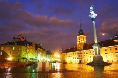 Fototapete Warschau